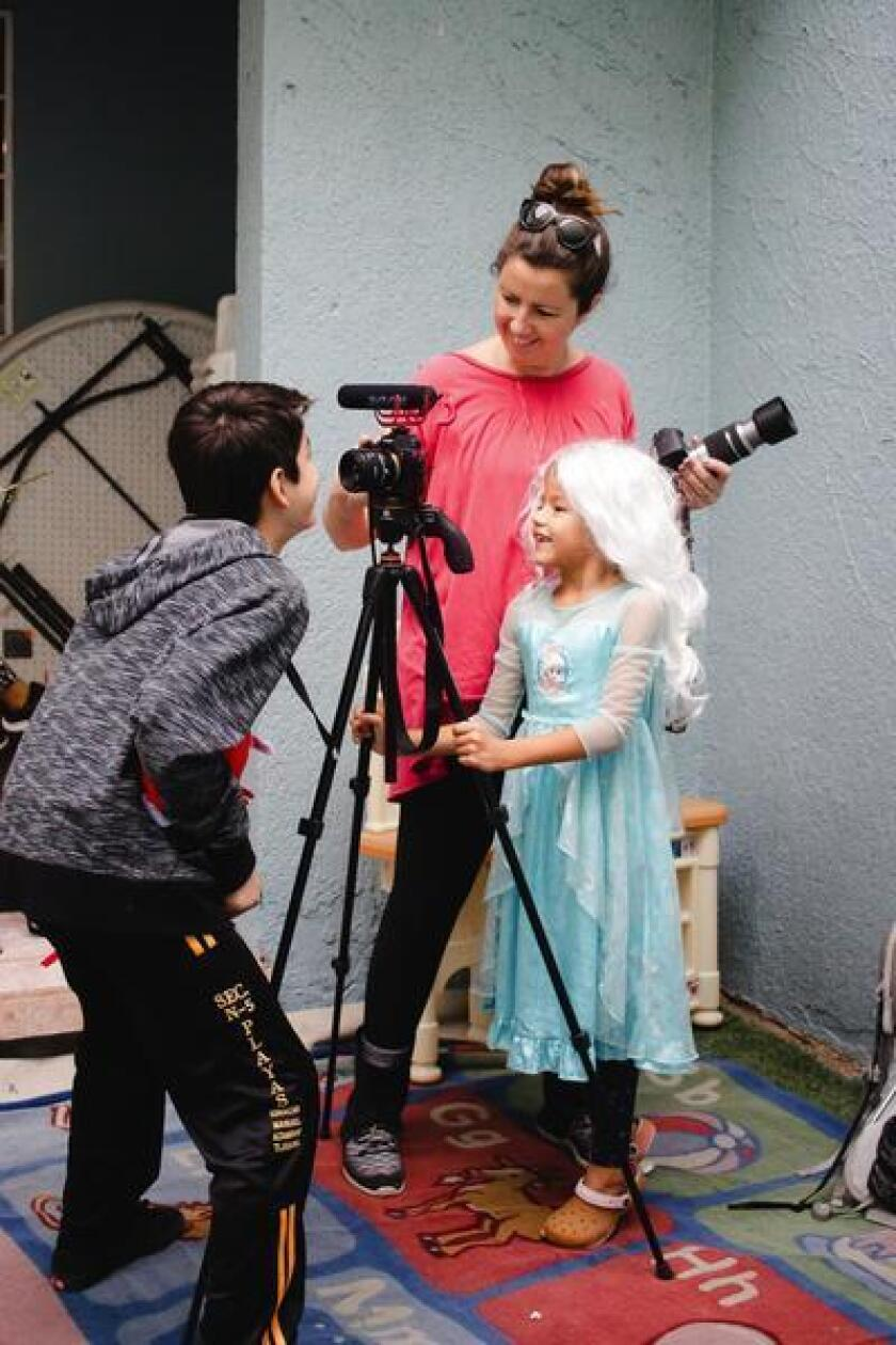 Hanna shooting at an orphanage in Mexico