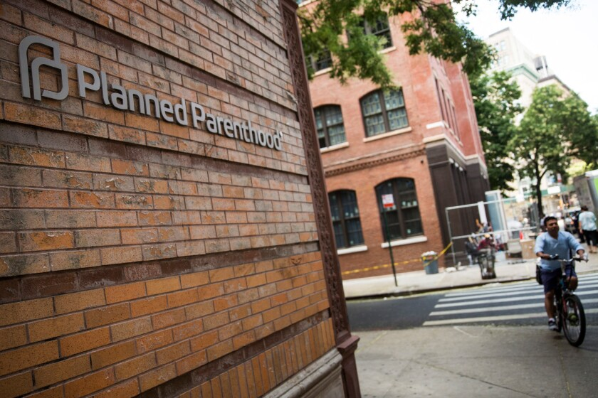 Planned Parenthood location in New York City