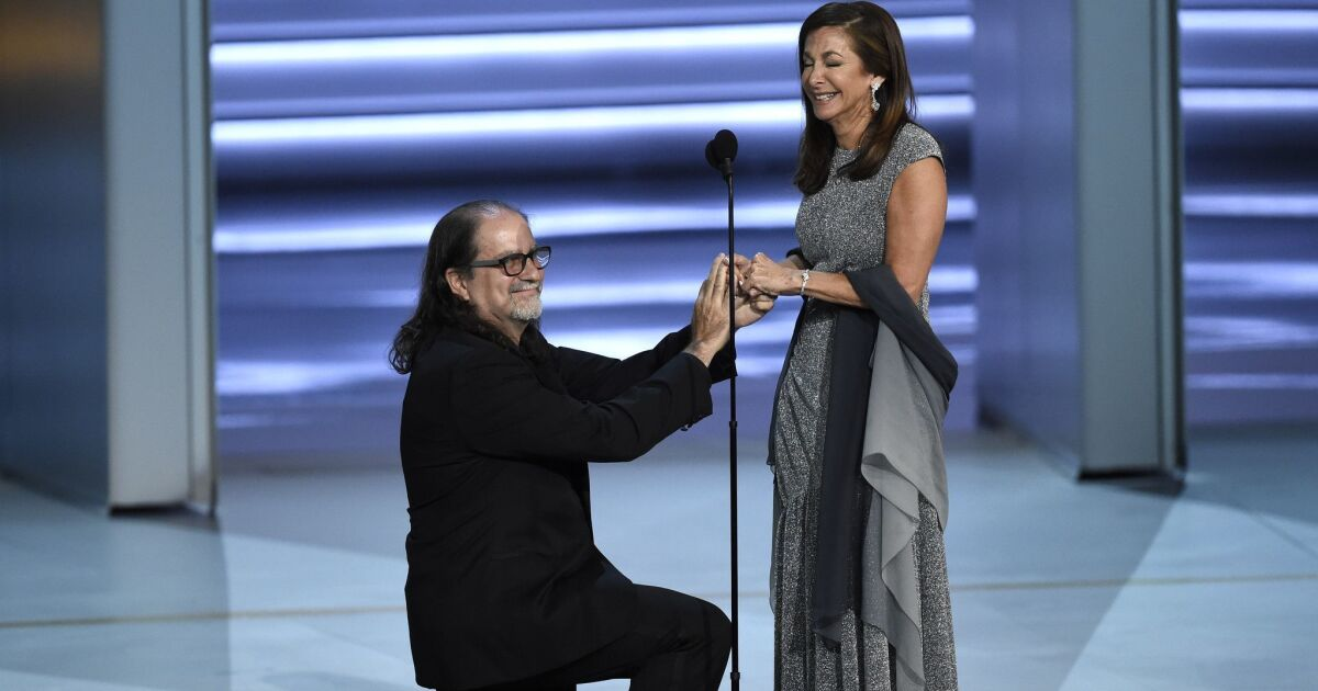The 10 best Emmy speeches: Tears, cheers and a marriage proposal