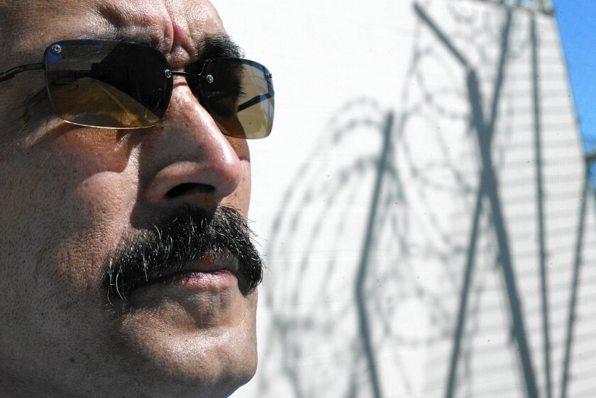 Rene Enriquez in 2005; the former member of the Mexican Mafia has spoken before business and police groups about the internal workings of the gang.