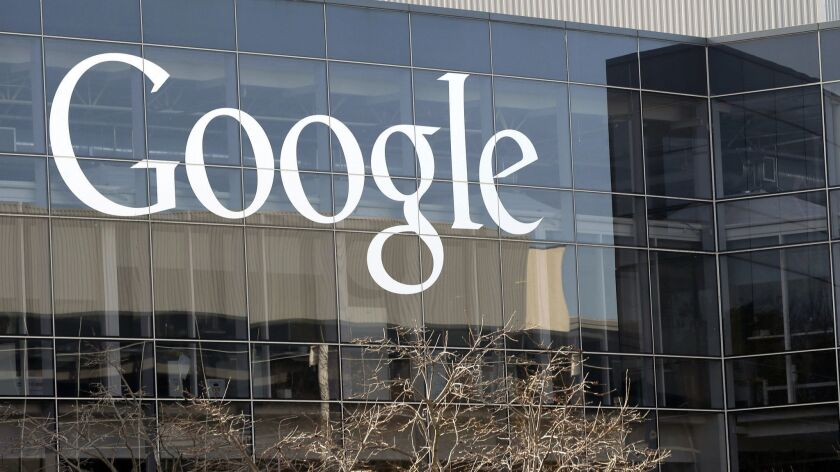 Digital ads will represent more than half of U.S. advertising sales this year, according to a report released Thursday. Google and Facebook are seen as the top two firms benefiting from the trend.