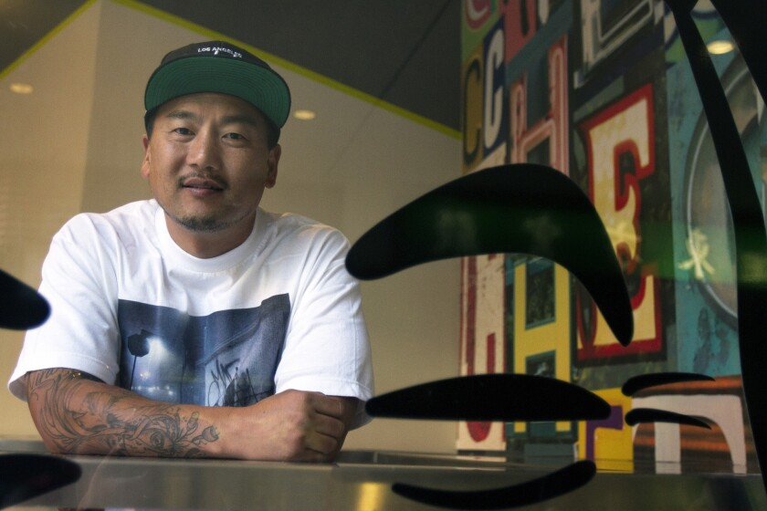 Roy Choi will serve chef-driven fast food favorites at his fast food chain Loco'l, slated to open in San Francisco and Los Angeles in 2015.