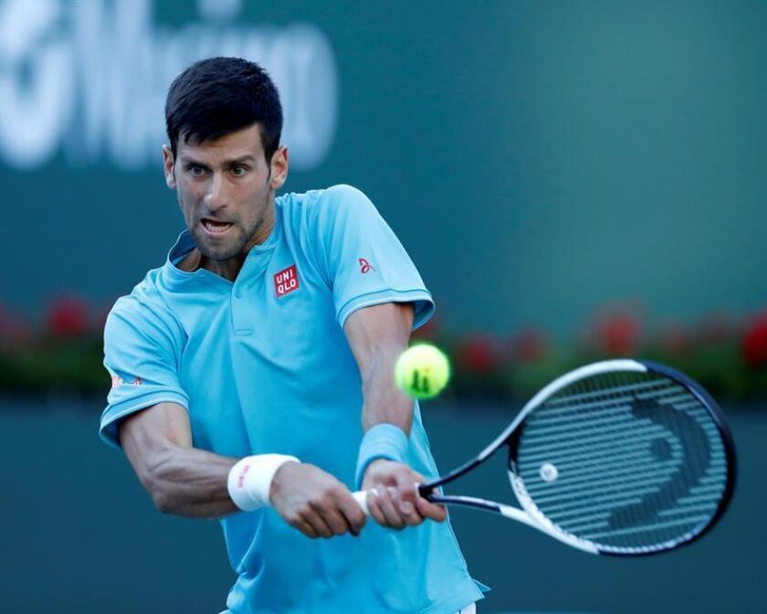 En la imagen, el tenista serbio Novak Djokovic. EFE/Archivo