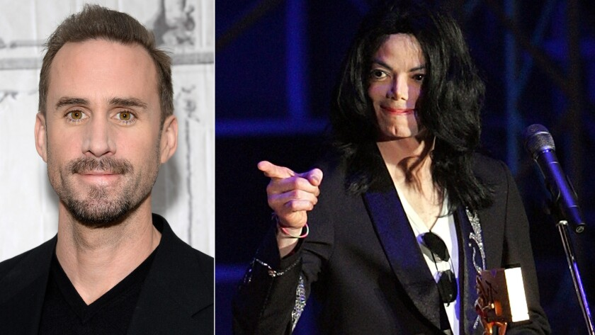 Joseph Fiennes says people should use their imaginations regarding his casting as Michael Jackson