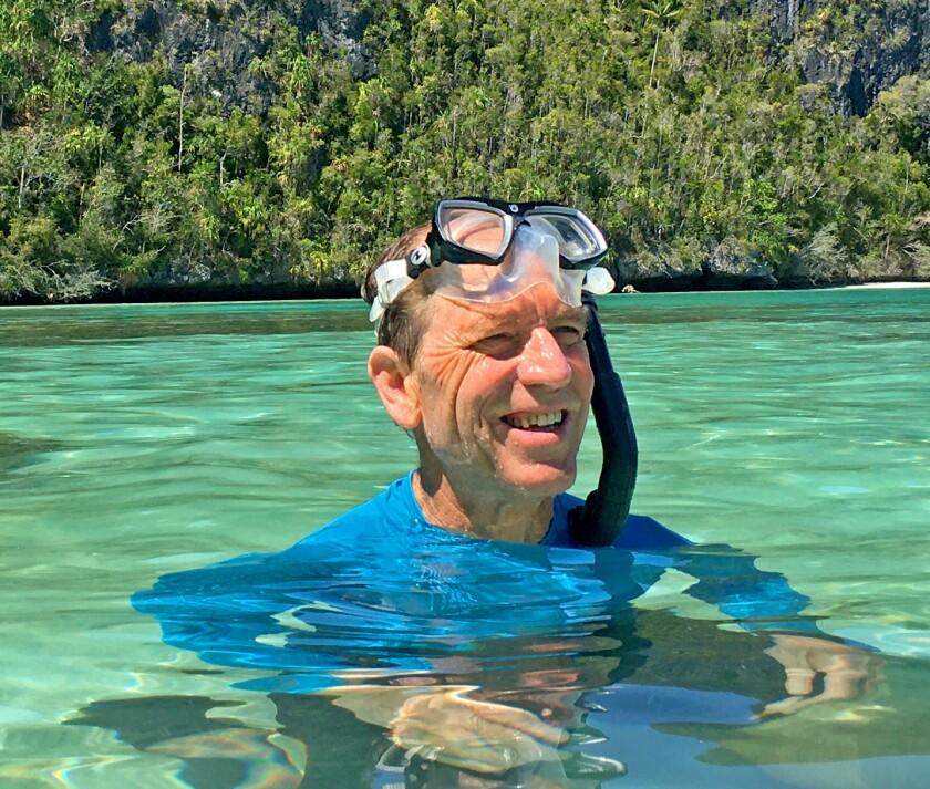 Speaker Chuck Weikert, author of Coral Reef Curiosities