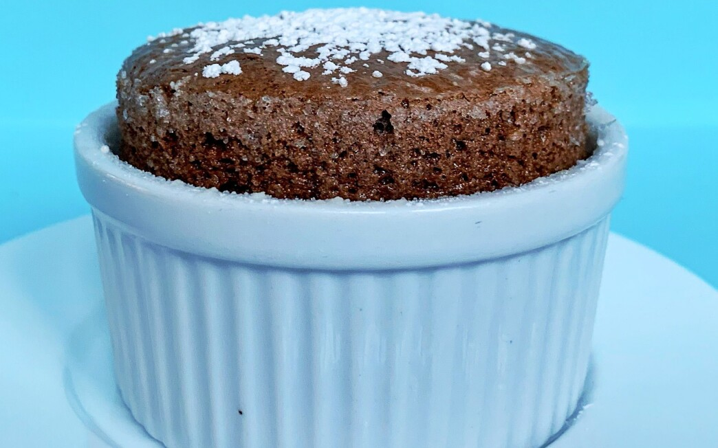 Make a soufflé with only three ingredients.