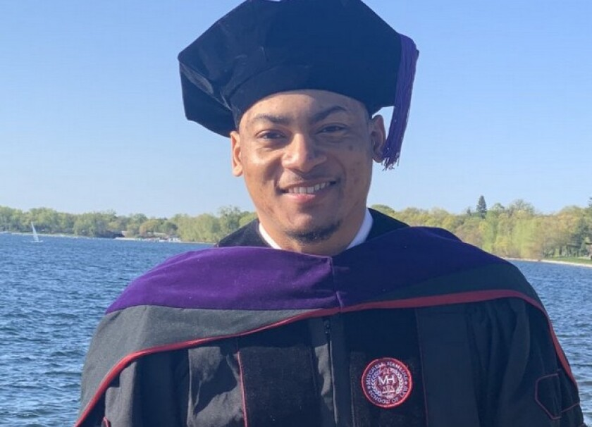 Former Dorsey and Washington State linebacker Jeremiah Allison graduated on Sunday from the Mitchell Hamline School of Law in Saint Paul, Minn.