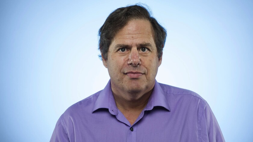 Los Angeles Times reporter Mike Boehm