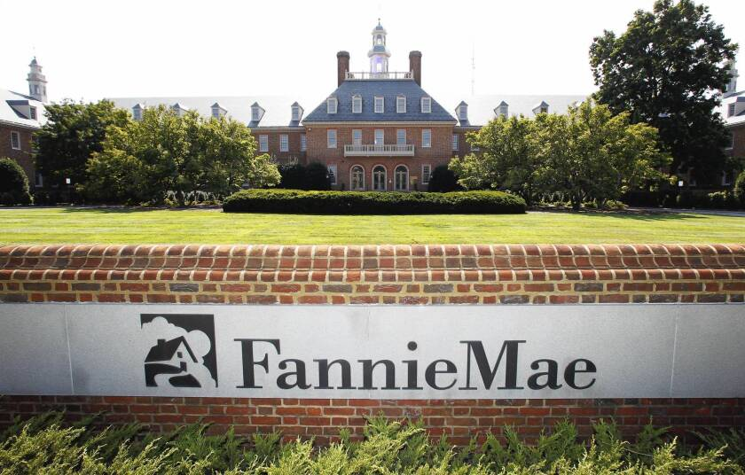 Fannie Mae is the nation's biggest buyer of home loans and guarantor of mortgages bundled for sale to investors. Taxpayers have spent $116 billion bailing out the company, which remains under U.S. government control. Above, Fannie Mae headquarters in Washington, D.C.