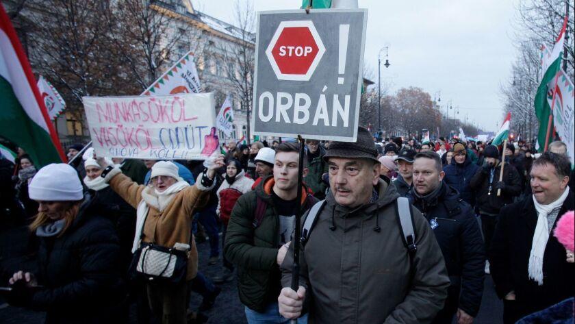 FILES-HUNGARY-LABOUR-POLITICS-DEMONSTRATION