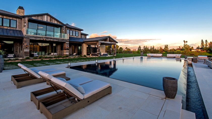 At $22.2 million, the 7.4-acre estate in Hidden Hills is the most expensive home ever sold in the guard-gated equestrian community.