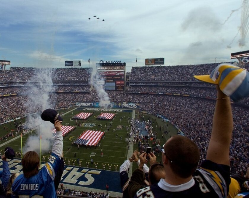 Aging Qualcomm Stadium has hosted Super Bowls and is big enough to qualify for World Cup play, but lacks state-of-the-art amenities.