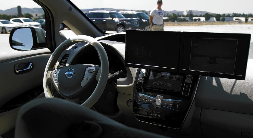 Proposed rules for self-driving cars drafted by California regulators