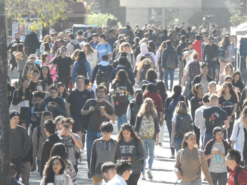 La UCSD espera funcionar casi a pleno rendimiento este otoño