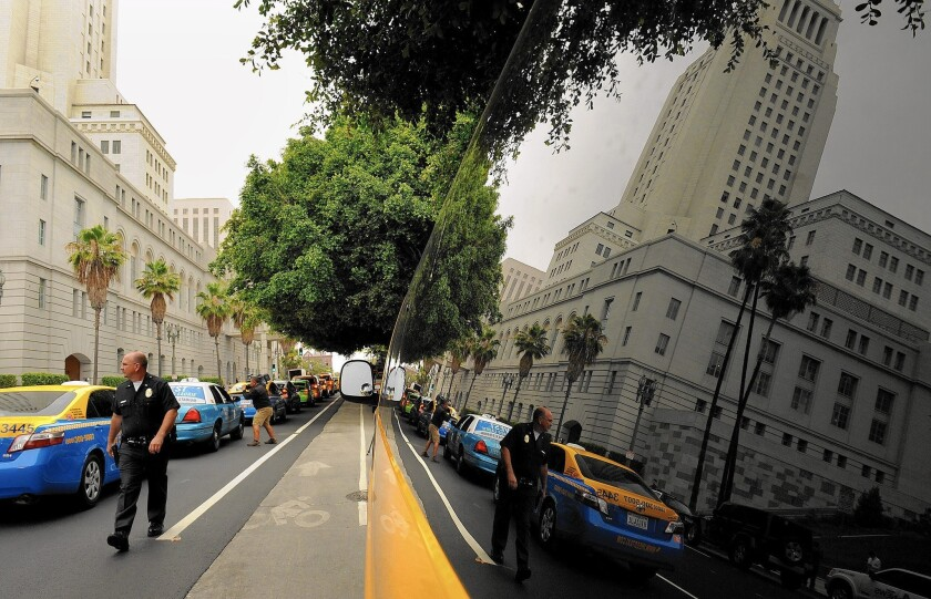 L.A. taxis