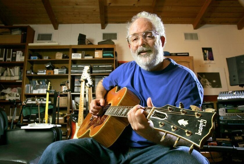 San Diego singer-songwriter Jack Tempchin moved here from Ohio with his family when he was 9 months old. He has written or co-written classic songs for The Eagles and Johnny Rivers, as well as maintaining a solo career as a performer.