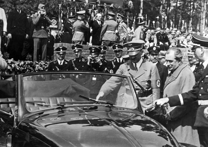 Hitler and the Volkswagen 'people's car'