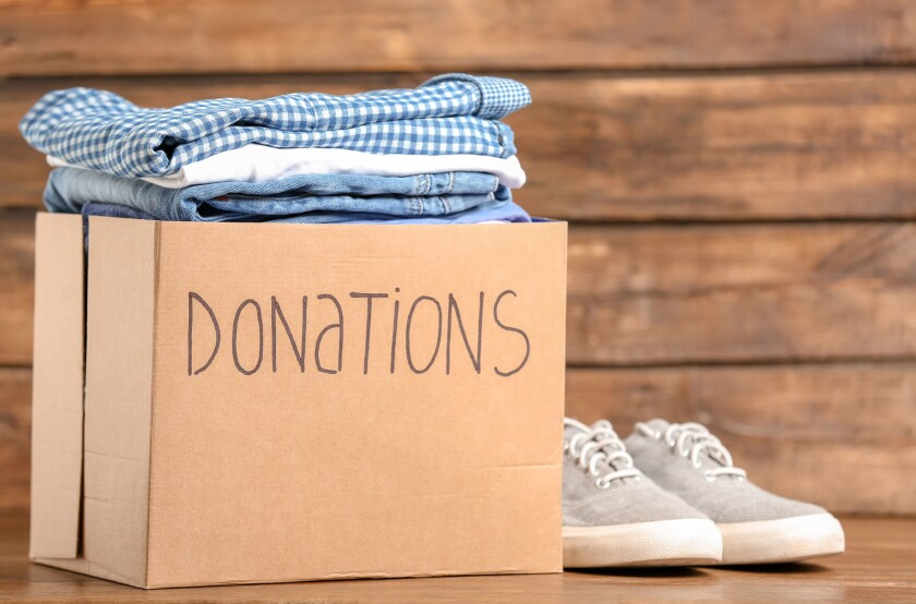 Donating clothes, kitchenware or furniture you no longer need can boost your deductions while helping a worthy cause.