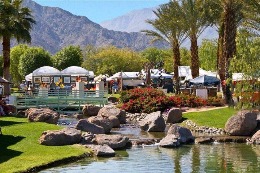 The 33rd annual La Quinta Arts Festival will return to the beautiful setting of La Quinta's Civic Center Campus, 78495 Calle Tampico in La Quinta, California, from March 5-8, 2015.