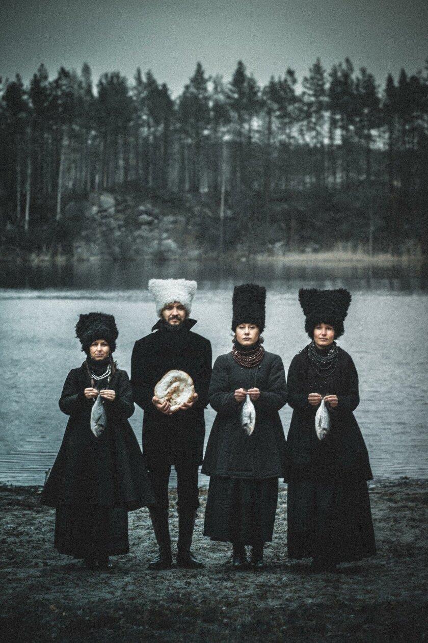 DakhaBrakha, a unique Ukrainian quartet, will perform at UCSD's Price Center East Ballroom May 11.
