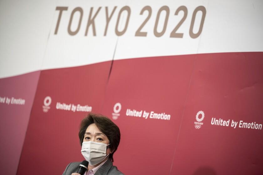 Seiko Hashimoto, presidenta del comité organizador de los Juegos Olímpicos de Tokio 2020