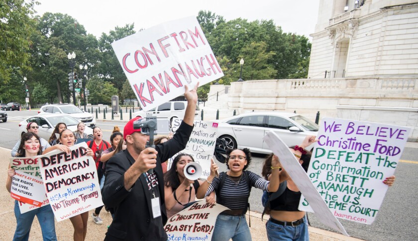Kavanaugh Protest