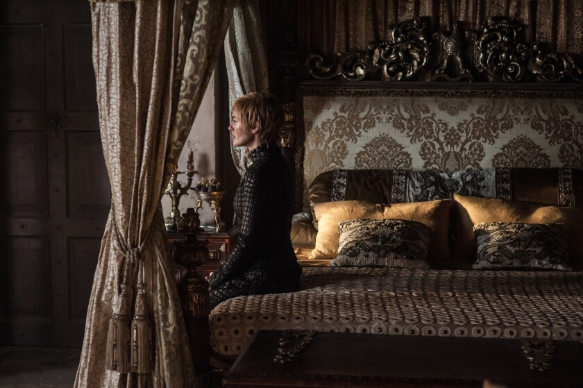"Lena Headey stars as Cersei Lannister in the ""Eastwatch"" episode of ""Game of Thrones"" Season 7."