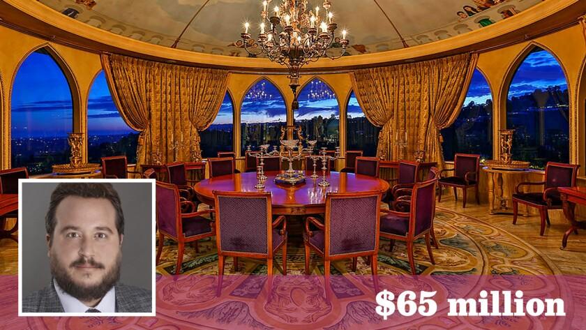 The onetime Westside estate of actor Danny Thomas sold for $65 million.