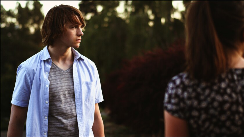 "Joel Courtney in the movie ""The River Thief."""