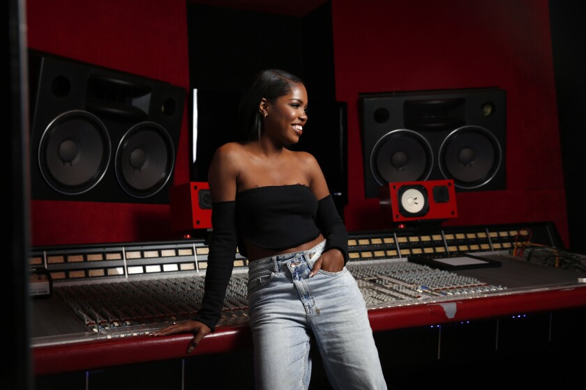 """""""Star"""" actress-singer Ryan Destiny is prepping to launch her solo career with her debut EP, """"On One's Own."""""""