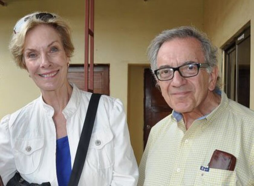 Kay Isaacson-Leibowitz and Harry Leibowitz. Courtesy photo