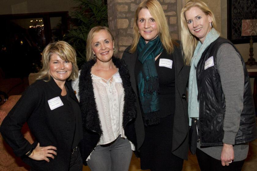Holly Coughlin, Nicole Baril (Foundation Executive Director), Elizabeth Silverman, Kathryn Macaulay