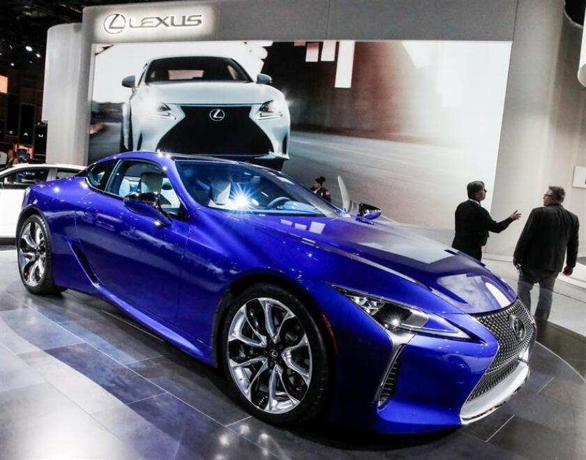 Lexus, la marca de lujo del grupo Toyota, es la más fiable del mercado estadounidense, según el estudio anual que realiza la firma de análisis del sector J.D. Power. EFE/Archivo