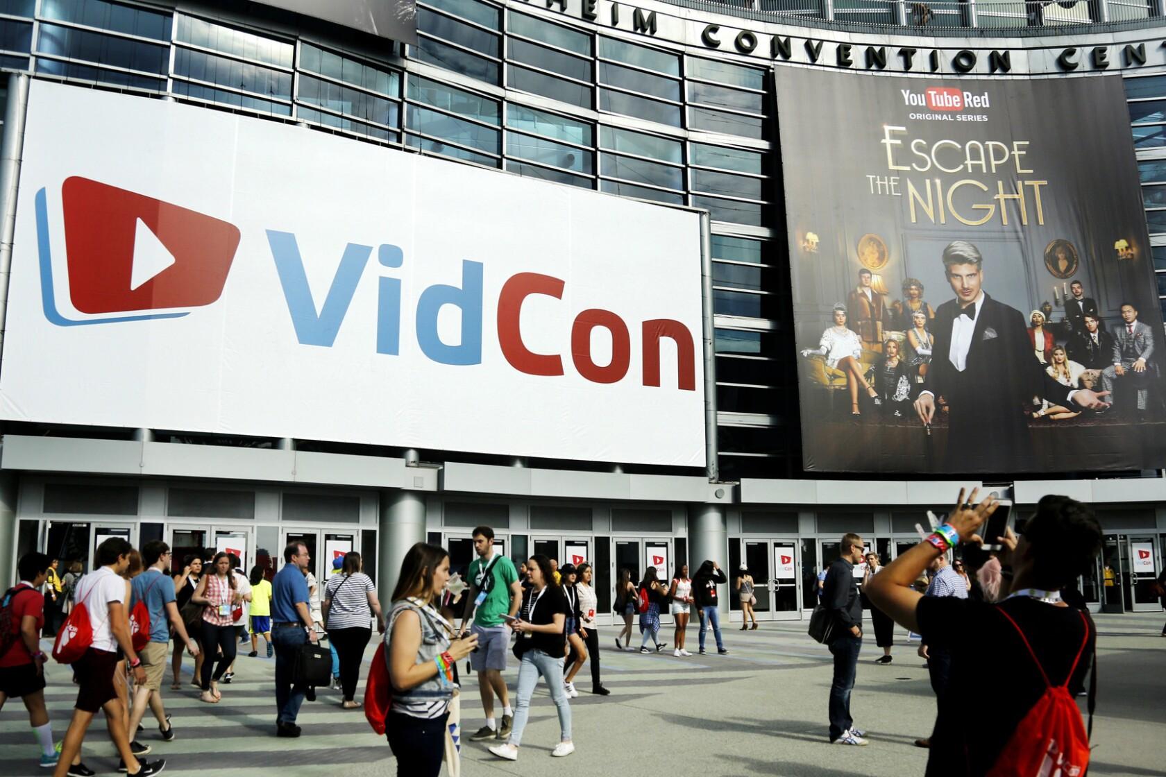 where is vidcon 2020