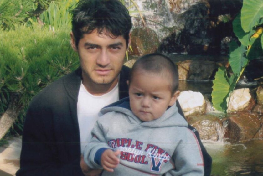 Manuel Ramirez and his son, Enrique. The boy was released to his mother's boyfriend during school on Dec. 6, 2010, then taken to Mexico unlawfully to live with his mother, who'd been deported. The boy remains in Mexico.