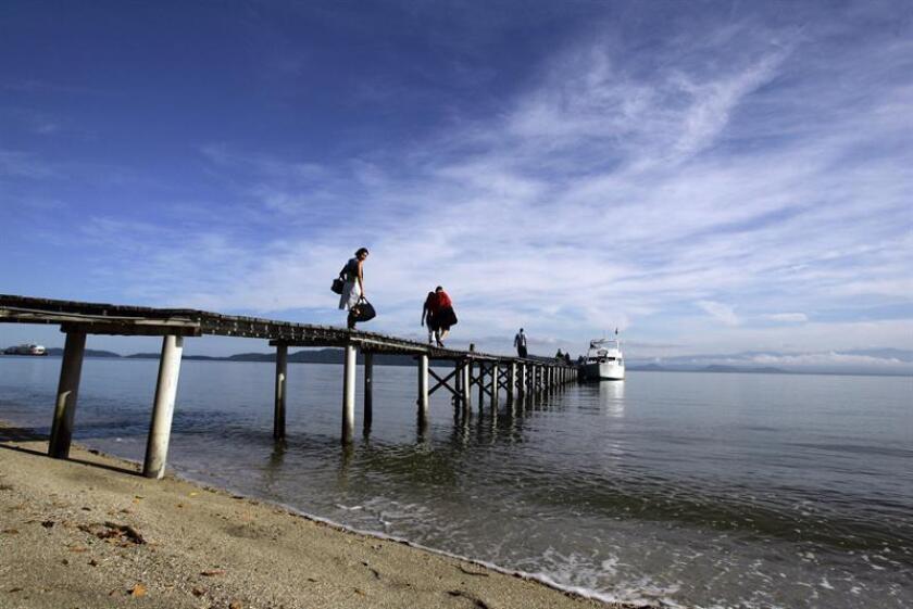 Un total de cinco playas lograron el puntaje cinco estrellas de la Bandera Azul Ecológica: Playa Matapalo, Punta el Madero, Playa Carrillo (Pacífico Norte), Playa Blanca y Playitas (Pacífico central). EFE/Archivo