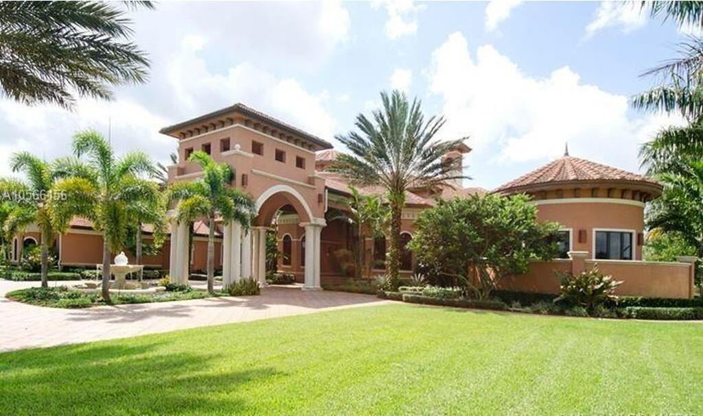 Brandon Marshall's Florida mansion