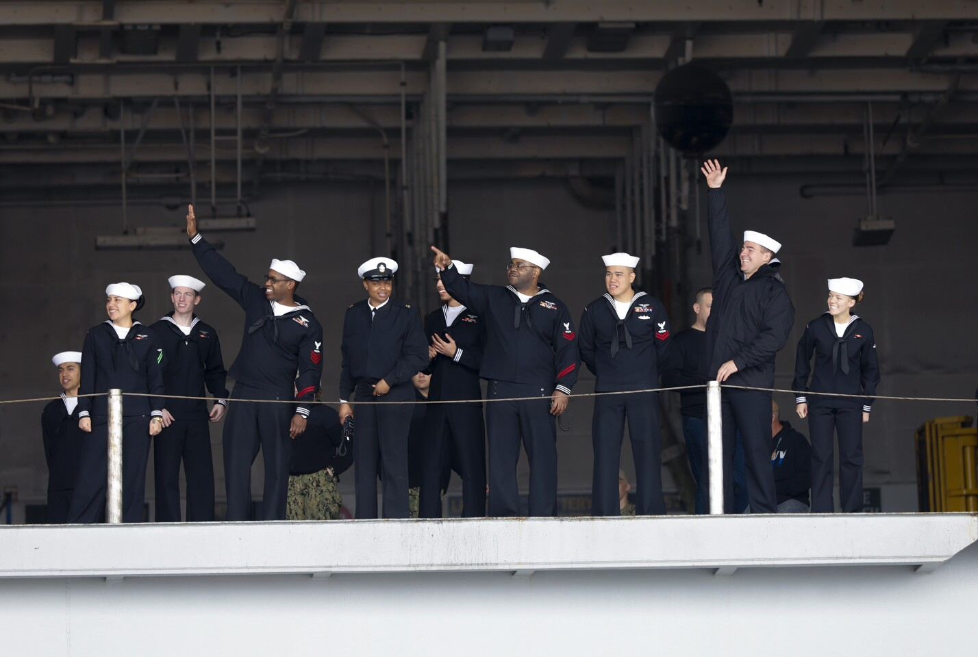 USS Abraham Lincoln (CVN 72) arrives in San Diego