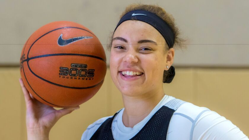 Mission Hills' Khayla Rooks, who will attend Washington, is averaging 23 points and 15 rebounds this season.