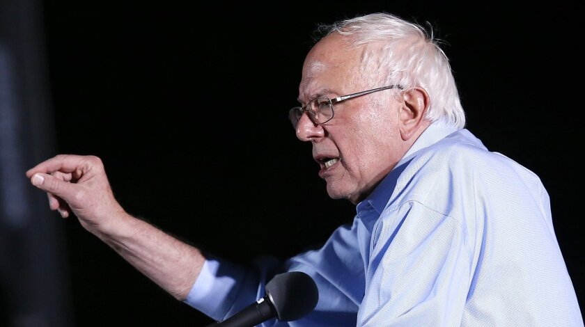 Sen. Bernie Sanders of Vermont has ended his quest for the Democratic presidential nomination.