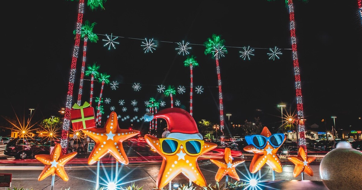San Diego Botanical Garden Christmas Lights 2021 Holiday Happenings Throughout North County The San Diego Union Tribune