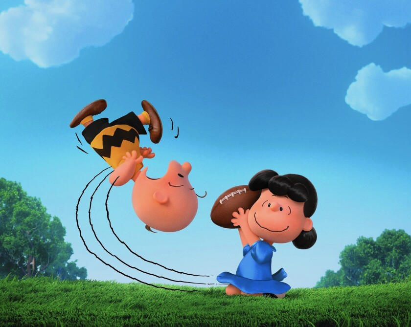 'Spectre,' 'Peanuts' signal box office rebound