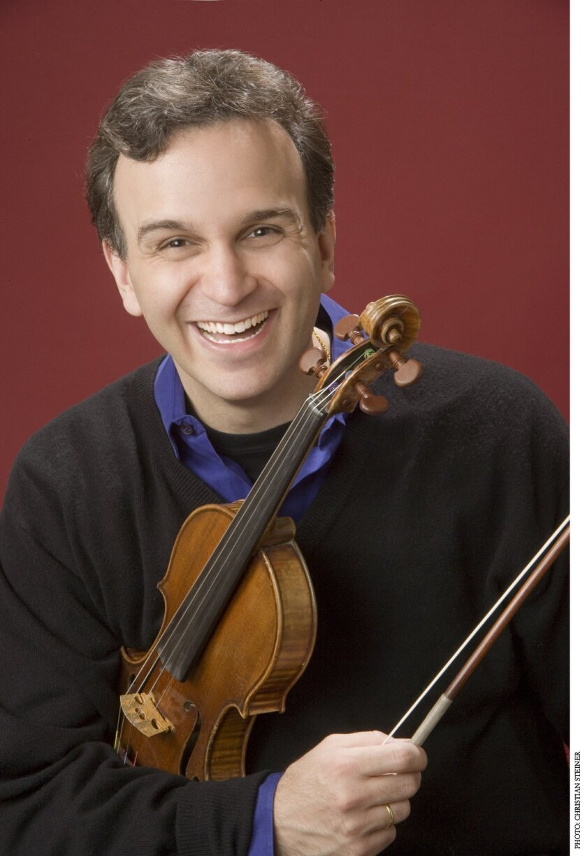 Gil Shaham will play with the symphony. Christian Steiner