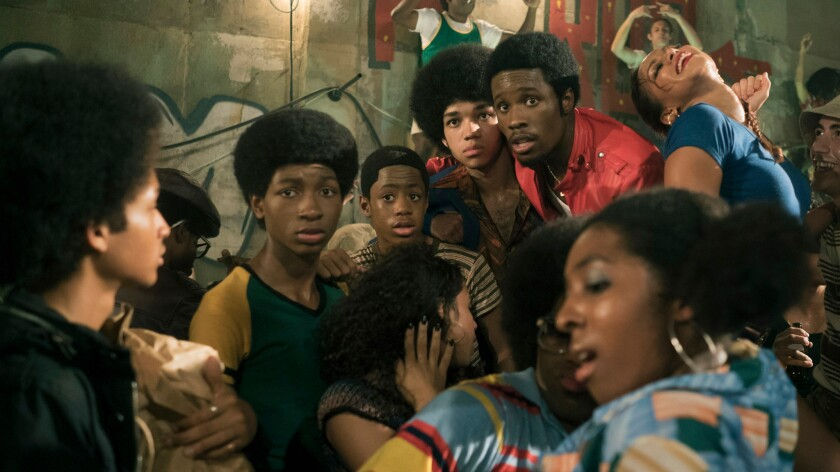 """Netflix's new series """"The Get Down,"""" from filmmaker Baz Luhrmann, chronicles the rise of hip-hop in the late 1970s out of New York City s South Bronx."""