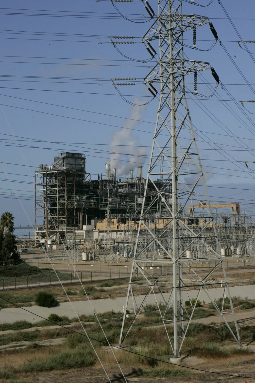 The pollution permit for the South Bay Power Plant, which hugs the waterfront in Chula Vista, is nearing expiration.  <em>   &#8201; John Gibbins / Union-Tribune  </em>