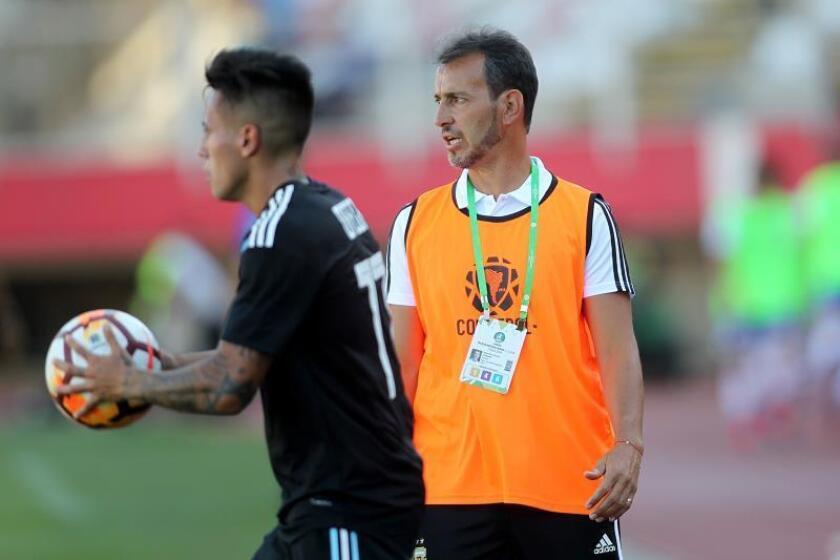 La selección olímpica argentina goleó a su par de Bolivia