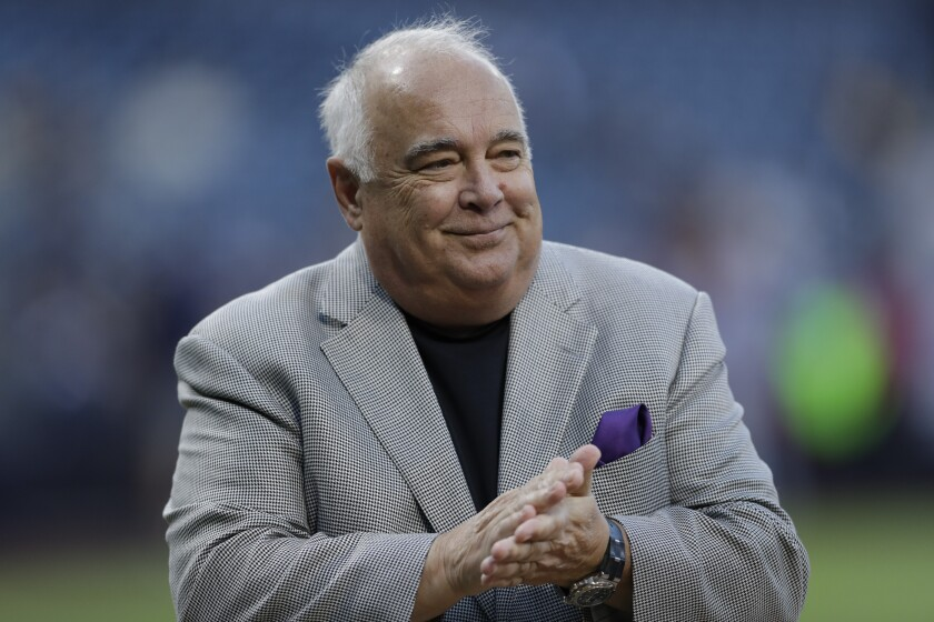 Ron Fowler, executive chairman of the ownership group of the San Diego Padres.