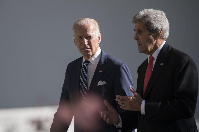 Joe Biden with John Kerry