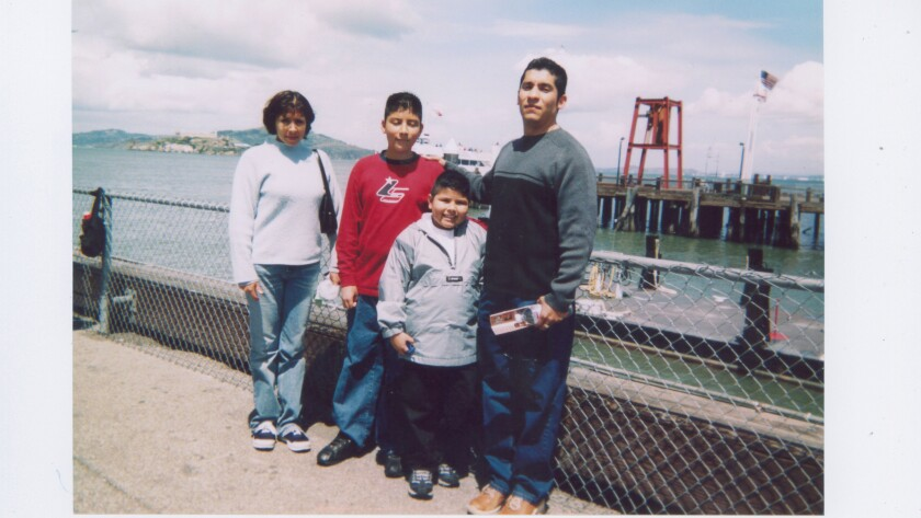 My family in San Francisco during my middle school years.