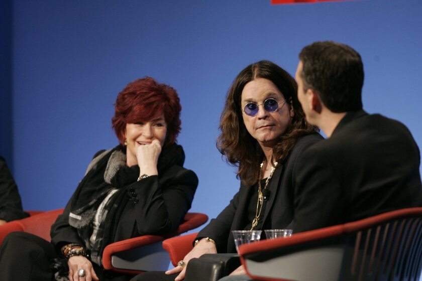 Sharon and Ozzy Osbourne talked about the heavy metal singer's genome sequencing test at the TEDMED conference in Coronado.